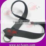 D ring fastener tape strap with rounded end for multi-purpose