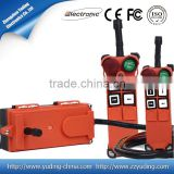Portable Industrial Wireless Remote Controls for electric hoist,crane,winch F21-4S