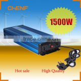 Chenf Chinese Manufacturers Wholesale DC to AC 1500W Pure Sine Wave Inverter With Battery Charger
