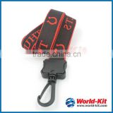 Wholesale Promotion Product Custom Woven Polyester Lanyards|E-CO friendly Strap Woven Lanyard