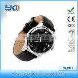 top selling 100% genuine leather watch for men