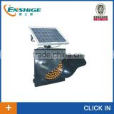 LED solar traffic flashing light yellow 400                                                                         Quality Choice