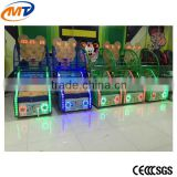 2016 New Indoor Amusement Park Center Equipment Arcade Children Kids /Coin Operated Basketball Shooting Game machine with CE