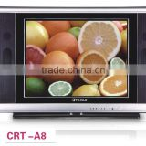 14inch 15inch 17inch 21 inch pure flat normal flat color crt tv new china products for sale