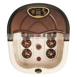 Brown color shell Electric foot bath SPA massager wholesale