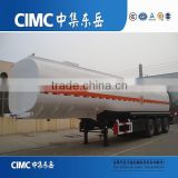 CIMC Factory Supply 3 Axle 42000L Disel Fuel Tanks and Semi Trailers