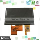"commercial grade 5"" tft touch screen display module (800*480) with I2C capacitive touch screen"