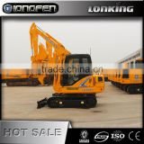 LG6065E Lonking brand new style wide;y used new 6 ton excavator for sale with low price