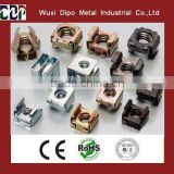 zinc plated m6 square lock cage nut