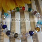 Crystal glass Bracelet with crystal beads jewelry clothes(R-1345