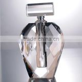Very cheap clear crystal perfume bottles with high quality