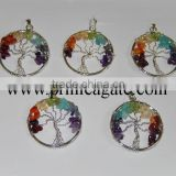 Tree of Life Chakra Pendants | Agate Jewellery | personalised tree of life jewellery For Sale
