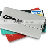 wholesale Plain white credit card usb flash drive, bulk items low price 2gb business card usb, Top Sale card usb flash drive