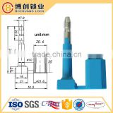 C-TPAT and ISO 17712 High-Security Bolt Seal with Plastic Covered Head