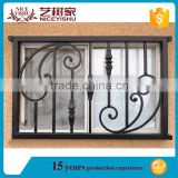 decorative window security bars,window guard,simple steel window grill design