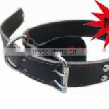 2012 Fashion Strong Genuine Leather Beaded Dog Collars Personalized