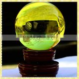 Choice Citrine Quartz Crystal Ball For Girlfriend Birthday Gifts