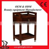 New design solid wooden trolley of Salon furniture BD-T