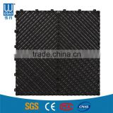 Heavy Duty 18mm Thickness PP Interlocking Plastic Garage Floor Tiles for Car Show