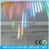 a Set of 8 bars of Falling Rain Drop/icicle Snow Fall String LED Xmas Tree Cascading Light Decor shooting star