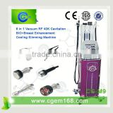 Cavi Lipo Machine CG-M9 New Design Portable Professional 6 In 1 Ultrasound Ultrasound Fat Reduction Machine Vacuum Cavitation Slimming Machine For Face Lifting And Body Shape