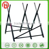 METAL steel folding Adjustable wood CHAINSAW Heavy Duty Sawhorse Log Saw Horse with Serrated Grip