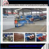 PP monofilament yarn equipment plastic fishing extrusion line for danline email:ropenet22@ropeking.com