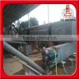 2015 haozhou the contionous carbonized furnace can make the rice husk to charcoal powder