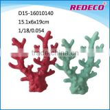 Custom ceramic artificial coral statue for aquarium decoration
