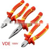 1000V Insulated tools VDE Combination Pliers Cutting Plier Wire Cutter Lineman's Plier set