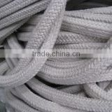 Tongchuang manufacturer square braided ceramic fiber rope for thermal insulation