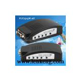 FLY7503W-BNC Composite & S-video to VGA Converter - Wide Screen