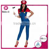 New design lady cartoon cosply costume high quality wholesales