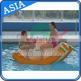 Small Swimming Pool Game Inflatable Seesaw Totter / Floating Kids Pool Toys