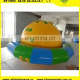 Large shaped sea toy inflatable flying saucer UFO