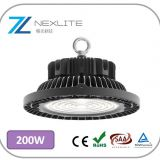200w LED high bay UFO low bay 150lm/w with Phillips chip and Meanwell driver 5 years warranty industrial led lighting