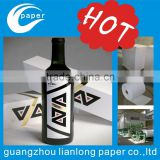 Guangzhou private label and waterproof glue factory professional custom beverage packaging plastic bottle label
