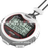 Automatic bicycle stopwatch alarm clock