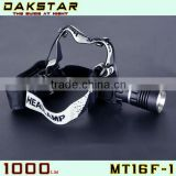DAKSTAR MT16F-1 CREE XML T6 1000LM 18650 Police LED High Power Rechargeable Beam Moving Head Light