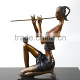 Patented Home Decoration Bronze Figure Statue Abstract Sculpture Female Figure Sculpture