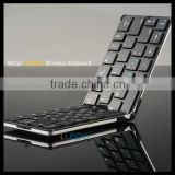 Bluetooth Folding Keyboard For Smartphone Tablet PC, Compatible with iOS Android System