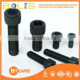 DIN912 Black Oxide hexagon socket head cap screws