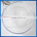 13.6cm transparent plastic ball,hanging capsule