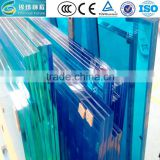 High safety 6.38 8.38 tempered laminated glass with 0.38mm PVB film (SGP) CE TUV certification