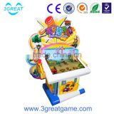 Kids coin operated electronic redemption game machine Fruit Attack simulator hammer game machine