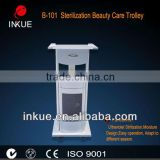 B-101 B-101 White Metal beauty salon spa trolley/ spa uv sterilizer cabinet (2014 new arrival)