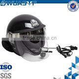 anti riot helmet with bluetooth for police