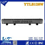 120w single row car 12 volt led light bar 515d*90w*60h off road, ATV, UTV, SUV, forklift, led truck light