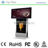 32 inch floor standing double sided lcd screen advertising displays lcd cheap touch screen all in one pc tv ad player                                                                                                         Supplier's Choice
