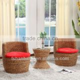 Woven Indoor Seagrass Swivel Chairs